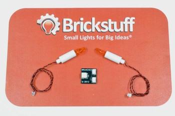 Brickstuff Flickering Candle 2-Pack (Version 2) - QK11v2
