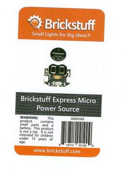 Brickstuff Express Micro Power Source - SEED13XS