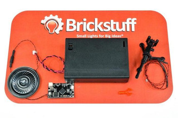 Bricksuff BrickArms M2HB Machine Gun QuicKit with Battery Pack and Sound - QK4-M2HB-S