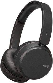 JVC Wireless Bluetooth Noise Cancelling On Ear Headphones - Black - HA-S65BN-B