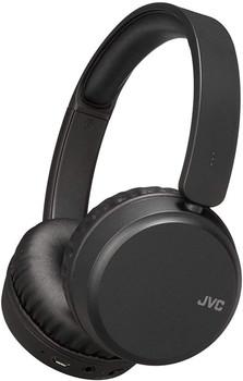 JVC Wireless Bluetooth Noise Cancelling On Ear Headphones - Black - HA-S65BN-B