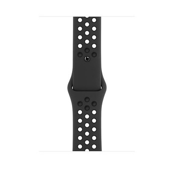 Official Apple Watch Nike Sports Strap Anthracite/Black 42/44mm S/M & M/L - MX8E2ZM/A - Bulk Packed