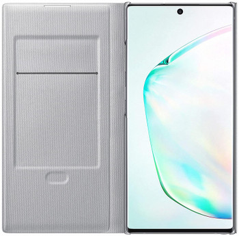 Official Samsung LED View Flip Cover Case for Samsung Galaxy Note 10+ / 10 Plus - Silver