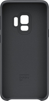 Official Samsung Galaxy S9 Silicone Cover Case - Black