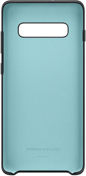 Official Samsung Galaxy S10+/S10 Plus Silicone Cover Case - Black