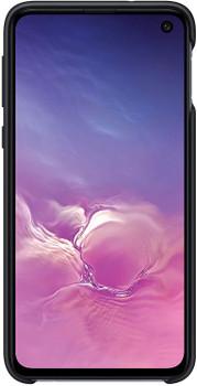 Official Samsung Galaxy S10e Silicone Cover Case - Black