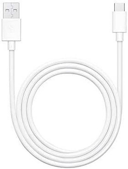 Official Oppo DL143 VOOC USB Type C to USB Type A Data Cable - White (Bulk Packed)