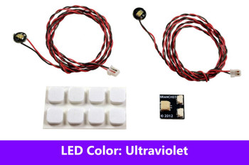 Brickstuff Ultraviolet Pico LED Light Board 2-Pack - LEAF01-PUV-2PK
