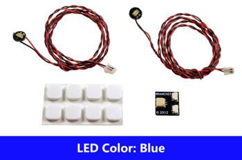 Brickstuff Blue Pico LED Light Board 2-Pack - LEAF01-PBL-2PK