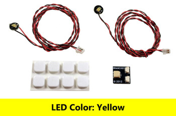 Brickstuff Yellow Pico LED Light Board 2-Pack - LEAF01-PYE-2PK