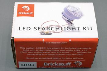 Brickstuff Custom 6-LED Searchlight for LEGOModels - KIT03