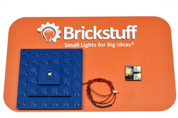 Brickstuff Blue Box Spaceship Pulsing Roof Light QuicKit - KIT14