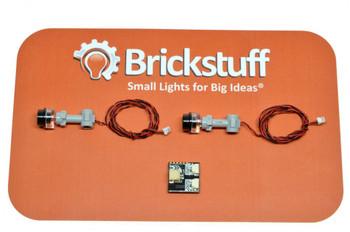 "Brickstuff Evil Robot Pulsing Eye Stalk QuicKit-- ""EXTERMINATE!"" - KIT15"