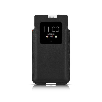 Genuine BlackBerry KEYone SmartPocket Pouch Case - Black(PKB100)