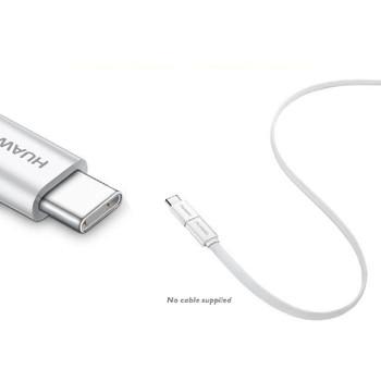 Genuine Huawei AP52 Micro USB TO USB Type-C Adapter for Huawei P9/P9 Plus/P10/P10 Plus, HTC 10, HTC U Play, HTC U Ultra, HTC U11, Nexus 5X/6P, LG G5, LG G6, Microsoft Lumia 950/950 XL, Samsung Galaxy S8/S8+, OnePlus 2/3, Google Pixel / Pixel XL