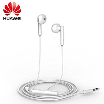 Genuine Huawei AM115 3.5mm Handsfree Earphones with Remote and Microphone for Huawei P9 lite - White (Bulk, Frustration Free Packaging)