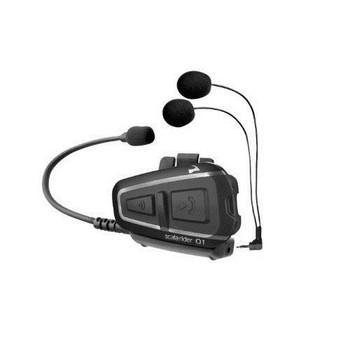 Cardo Scala Rider Q1 Solo Motorcycle Bluetooth Headset - BTSRQ1