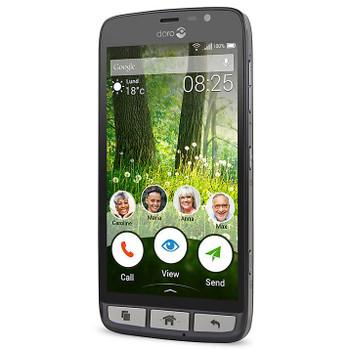 Doro Liberto 825 UK SIM Free Smartphone - Black / Steel - 6764