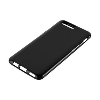 InventCase Premium TPU Gel Case Cover Skin for the OnePlus 5 2017 - Black