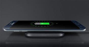 Genuine Samsung Wireless Inductive Charging Plate Pad Station (EP-PA510BBEGWW) - Samsung Galaxy S6 / S6 Edge / S7 S7 Edge / S8 / S8 Plus - Black