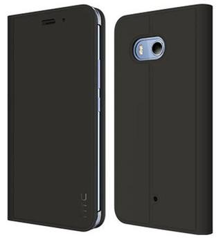 Genuine Official HTC U11 Dark Grey Flip Case Stand Wallet Cover - HC C1322