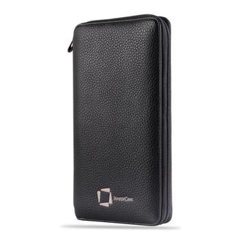 InventCase PU Leather RFID Blocking Passport / ID Card / Money Wallet Organiser Holder Case Cover for Argentina / Argentine Passports - Black