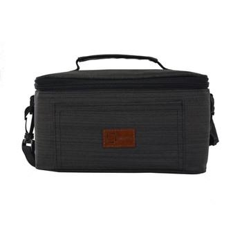 InventCase Premium Medicine, Tablets, First Aid Emergency Survival Kit Storage Bag Case Cover  - Dark Grey