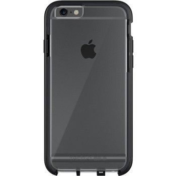 Tech 21 Evo Elite Case for Apple iPhone 6/6s Plus (5.5 inch) - Brushed Black (T21-5206)
