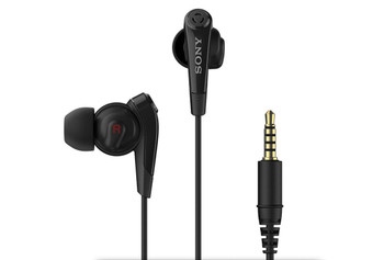 Sony Digital Noise Cancelling In-Ear Headphones with Built-in Microphone (Compatible with Sony Devices) - Black - MDR-NC31E (Bulk Packed)