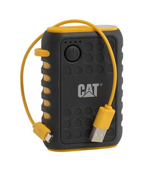 Caterpillar CAT Active Urban Rugged Powerbank Battery Pack Charger - Black / Yellow (Bulk Packed)