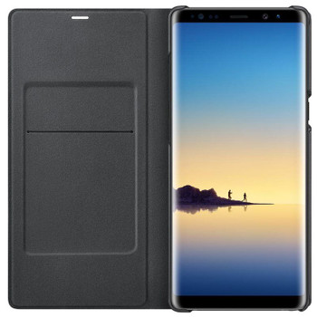 Official Samsung Black LED View Cover for Samsung Galaxy Note 8 (EF-NN950PBEG)