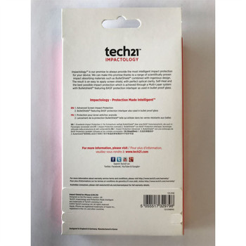 Genuine Tech21 Impact Shield With Self Heal Screen Protector for iPhone SE / 5 / 5s / 5c (T21-3748)