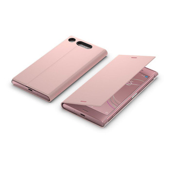 Genuine Official Sony SCSG50 Style Cover Stand Case for Sony Xperia XZ1 - Pink