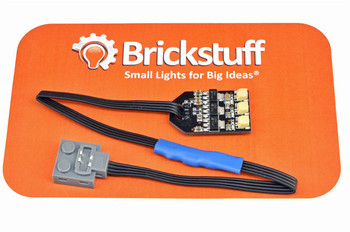 """Brickstuff LEGO Power Functions Power Source v2 with 9"""" (22.8cm) Cable and 3 Channel 5V DC Output - SEED07"""