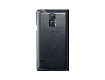 Official Samsung S-View Case Flip Cover for Samsung Galaxy S5 - Black (SM-G900VSCOVBLK)