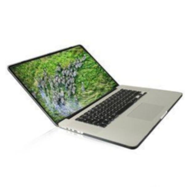 "InventCase Rigid Hard Cover for MacBook Pro 13"" A1278 Laptop - Black"