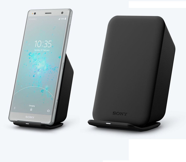 Official Sony Fast Wireless Charging Dock with UK/GB Charger for Sony Xperia XZ2