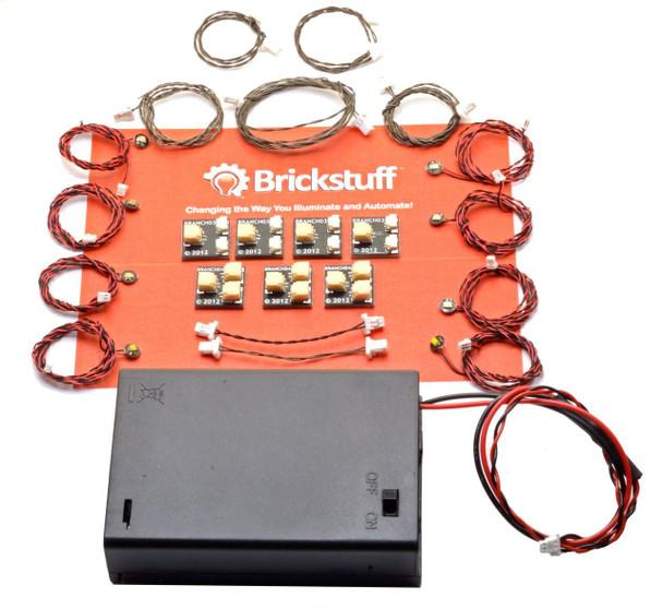 Brickstuff Pico LED Light Board Starter Kit for LEGO Models - TREE02