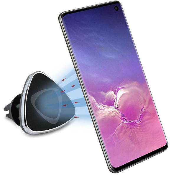 InventCase Air Vent Car Mount Clip Stand Magnetic Mobile Phone Holder for Samsung Galaxy S10e / S10 / S10+