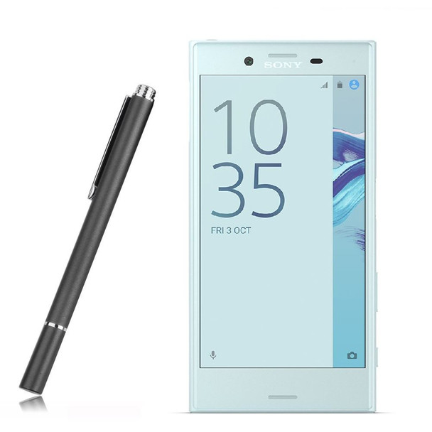 InventCase Premium Round Thin Tip Capacitive Disc Stylus Pen for Sony Xperia X Compact
