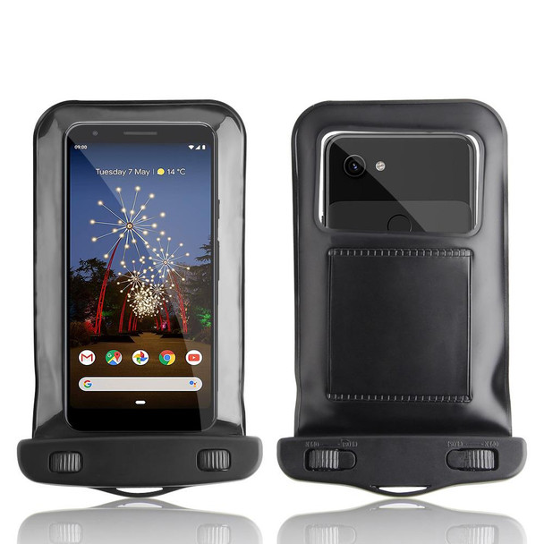 InventCase Waterproof Dustproof Bag Case Cover for Google Pixel 3a / 3a XL 2019 - Black