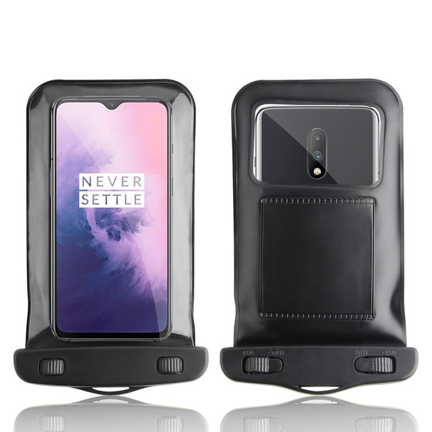 InventCase Waterproof Dustproof Bag Case Cover for OnePlus 7 / 7 Pro 2019 - Black