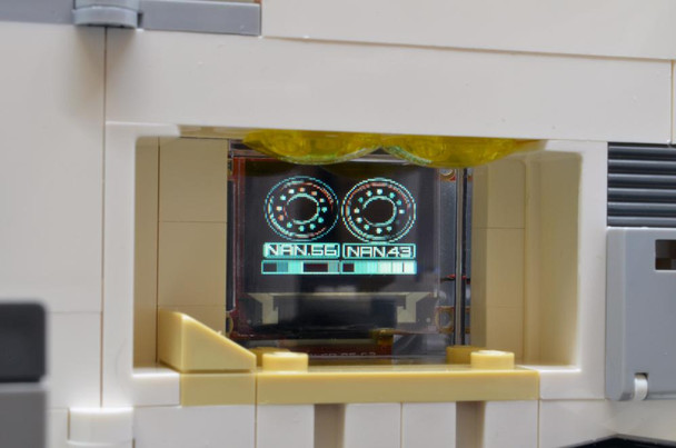 """Brickstuff 0.96"""" OLED Sci-Fi Video Screens With 21 Pre-Loaded Animations - KIT-VS096-SF"""