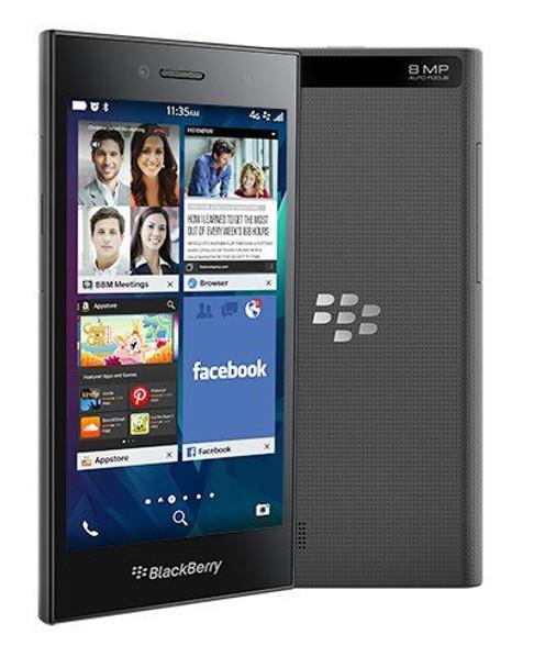 BlackBerry Leap UK SIM-Free Unlocked Smartphone - Dark Grey