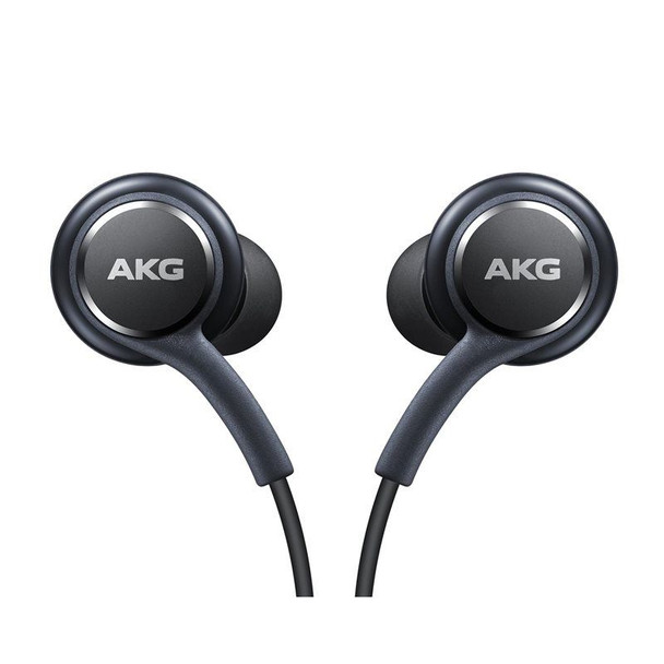 Official Samsung Galaxy S8 / S8+ Headphones / Earphones - Tuned by AKG / Harman Kardon - Black (EO-IG955BSEGWW) - Bulk Packed