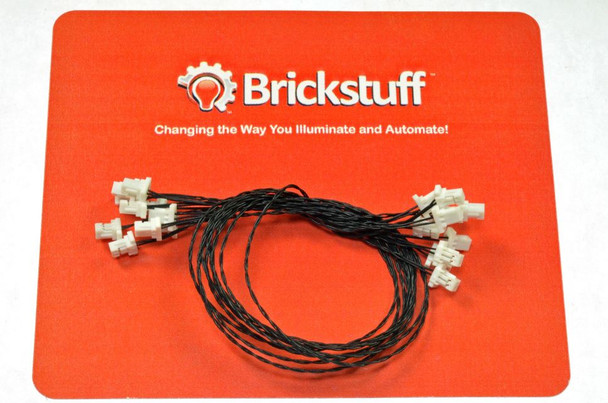 "Brickstuff 10-Pack, 6"" Connecting Cables (Bulk Packs)  - WIRE06-10PK"