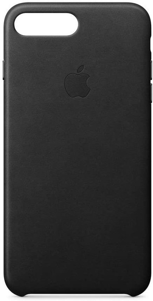 Official Apple Leather Case Cover for iPhone 8 Plus - Black