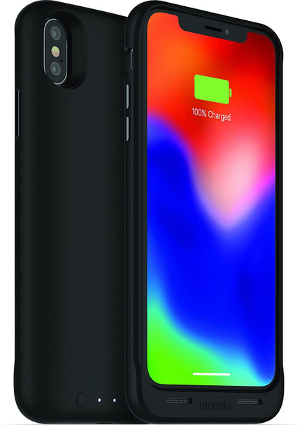 Mophie Juice Pack Air Battery Case for Apple iPhone X / Xs - Black - Certified Refurbished