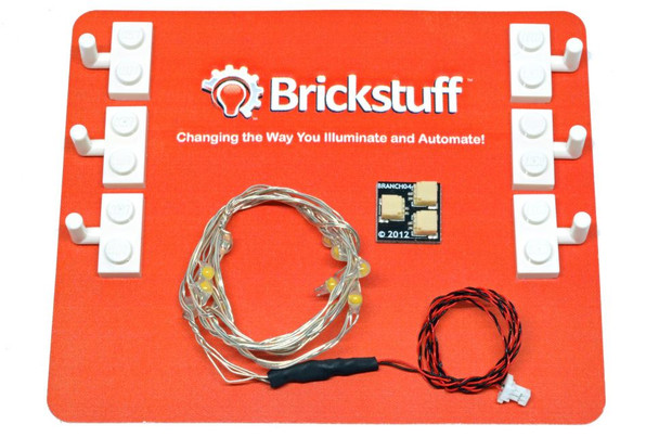 Brickstuff 10-Light Twinkling LED Light String for the Brickstuff LEGOLighting System - LEAF10-TW