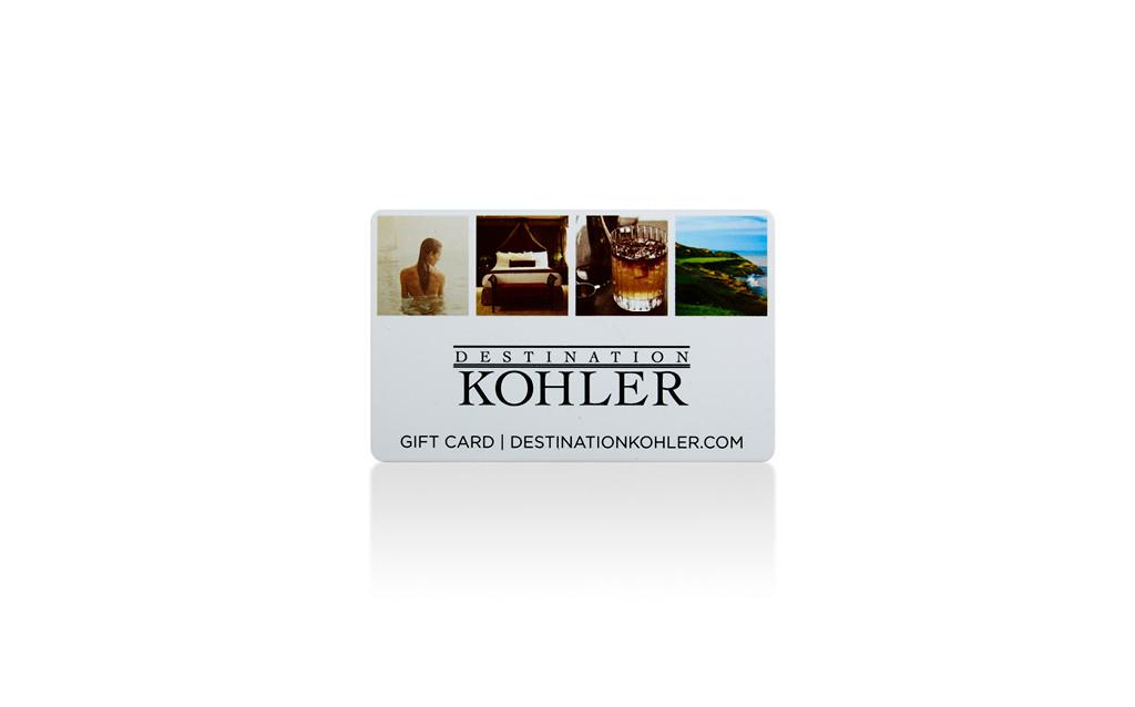 DESTINATION KOHLER GIFT CARD